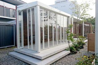 LIXIL Zima<br /> 開放感と、プライベート性を兼ね備えた人気ナンバーワンのガーデンルームです。